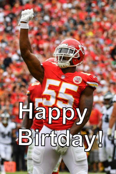 Happy Birthday to # 55 Dee Ford!