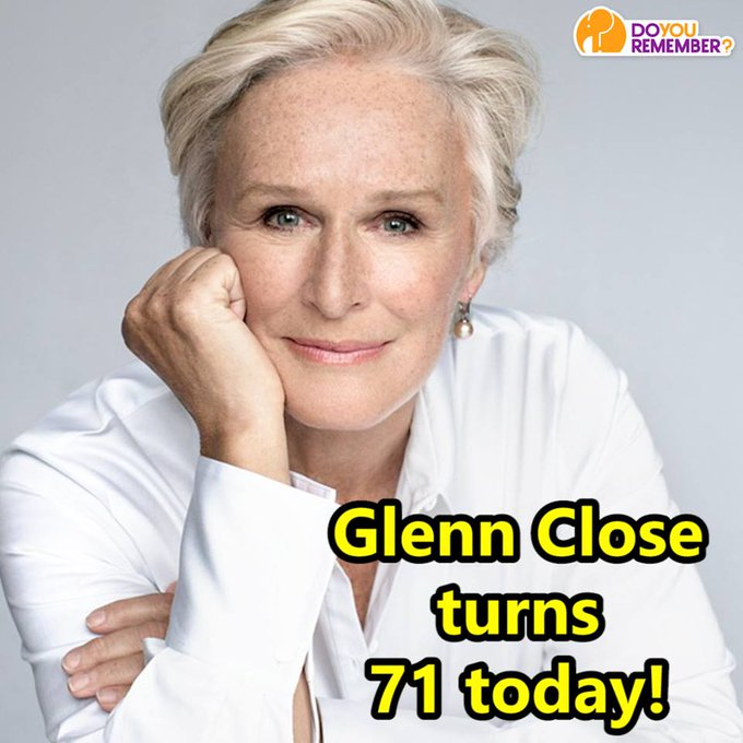 Happy Birthday, Glenn Close! Do you have a favorite movie that she is in?