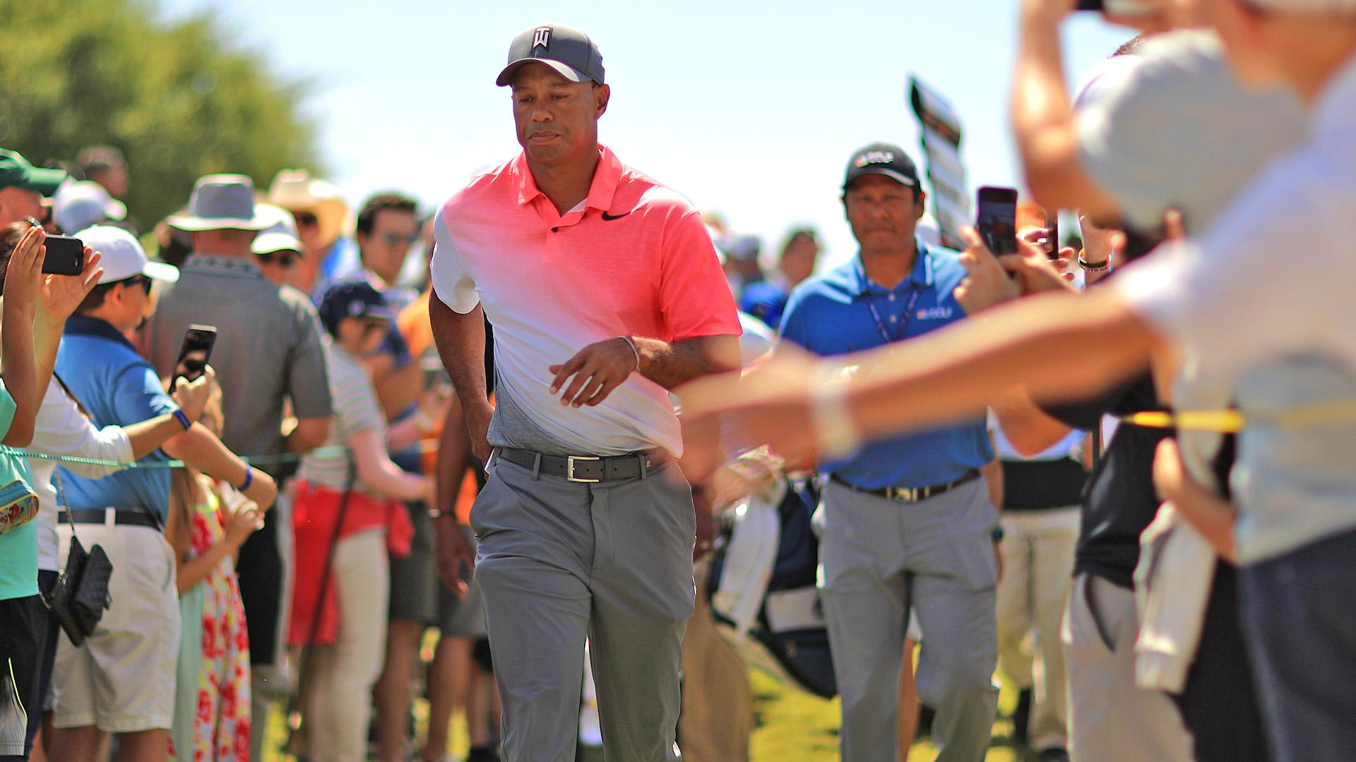 Tiger is moving up the FedExCup standings and world rankings.  https://t.co/8tf3S54LvF https://t.co/rDJHAx4HHG