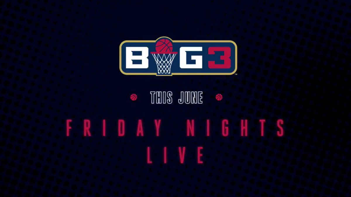 RT @FS1: It's baaaack.  This summer, @thebig3 is coming to you LIVE Friday nights on FOX and FS1. https://t.co/Qe9yetN5Q0