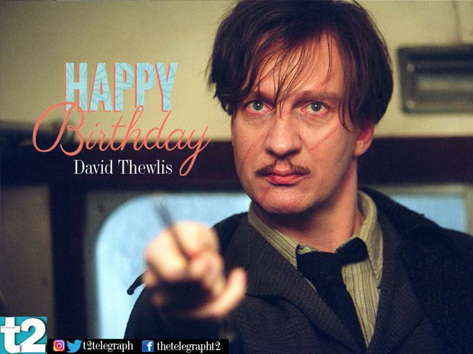 T2 wishes a very happy birthday to the super cool professor Lupin, aka David Thewlis.