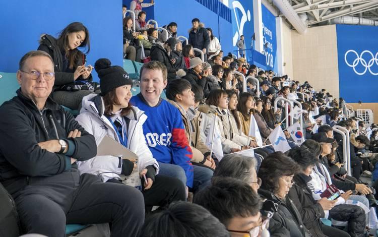 Winter Olympics provide indelible memories for Duke community members. https://t.co/EqKVuEG3c4 https://t.co/EgdcZ4gva3