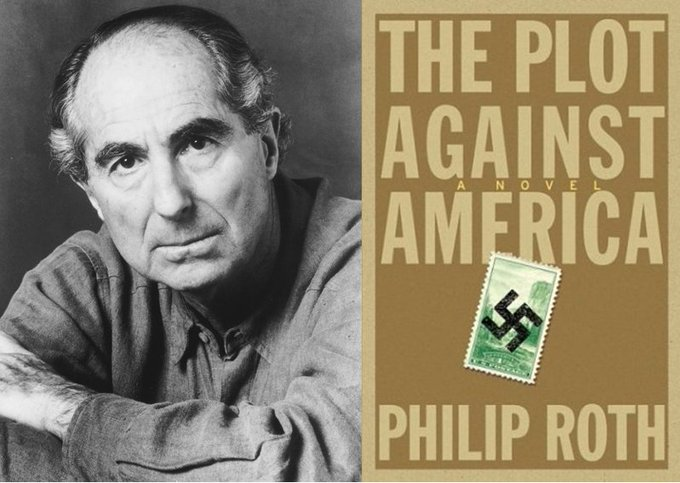 Happy birthday Philip Roth! Pick up one of his books in the Adult Fiction section!