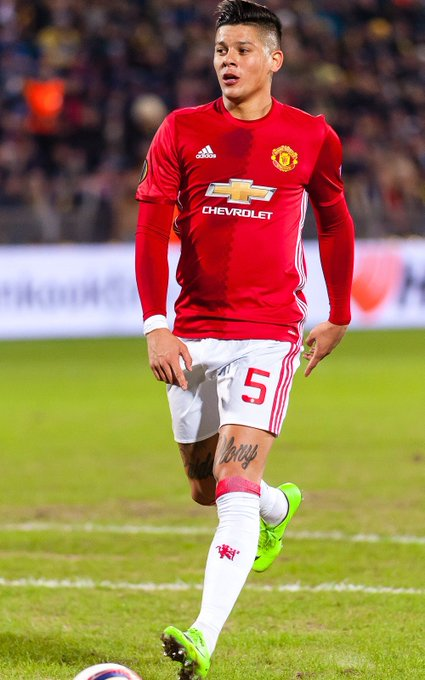 Happy birthday to marcos rojo on the 20th march