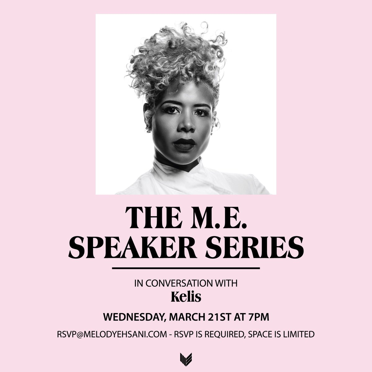Join me this Wednesday for the #MESpeakerSeries at the @melodyehsanishop ???? https://t.co/ovEwiE3cXk