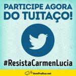 RT : Participe do tuitaço agora. #Res...