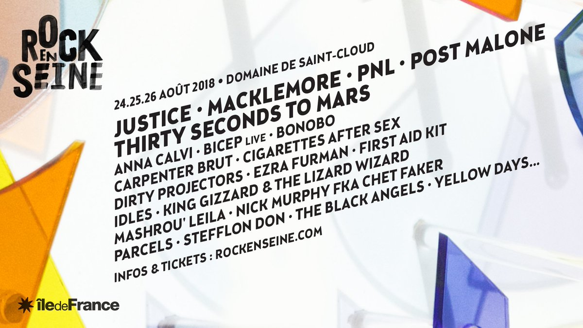 MARS IS COMING AUG 25 // @RockEnSeine  PARIS  https://t.co/GZmPqvnc22  #RockEnSeine  #MonolithTour https://t.co/eipRlvCgSL