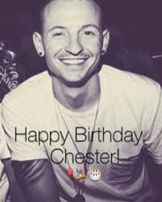 Happy Birthday to our angel Chester Bennington