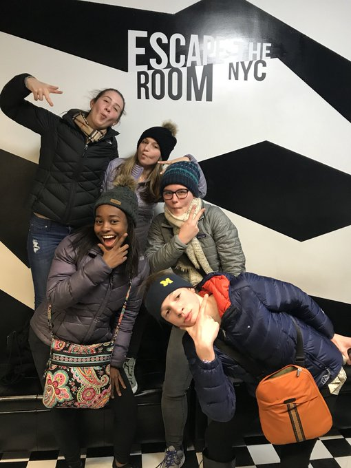 Ready to beat the clock (and STEAM) at Escape the Room NYC! https://t.co/3yuYpfeZAP