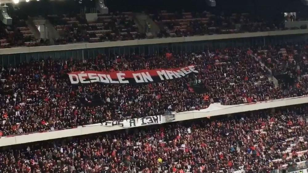 Hungry OGC Nice football fans protest as match rescheduled to lunchtime