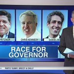 Democratic governor's race narrows on eve of primary election