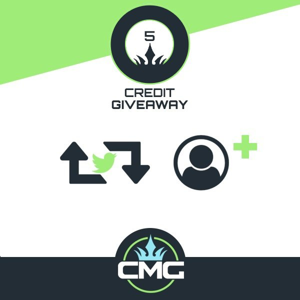 CONGRATULATIONS @Caytoh!!  YOU'VE WON FREE CMG CREDITS!!  CHECK YOUR MESSAGES FOR DETAILS!! https://t.co/aVUzhKfweZ