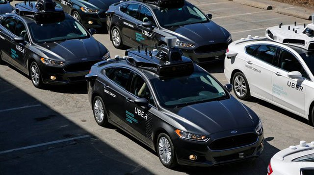 Police say Uber self-driving vehicle has hit and killed pedestrian in Phoenix, Arizona
