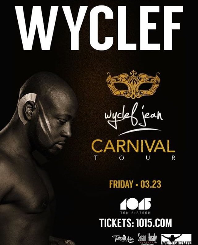 RT @LoveitStill: Bay Area - Check Out @wyclef Carnival Tour • Friday •03•23 @1015sf https://t.co/nJ22Uoe91l