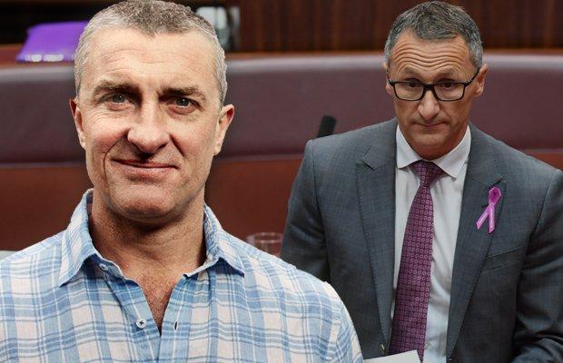 Tom Elliott slams 'ludicrous' outburst from Greens leader