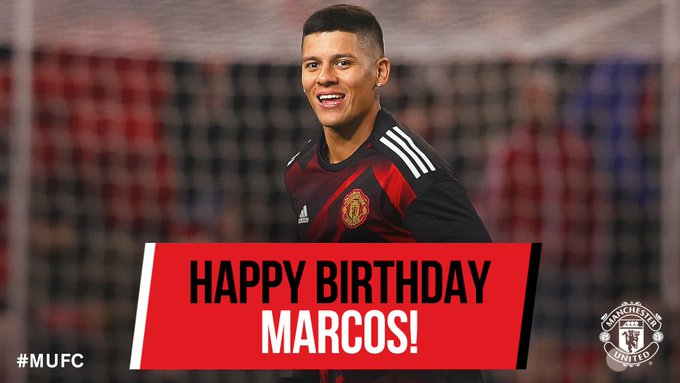 Happy birthday Marcos We hope you have a great day