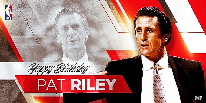 Happy 73rd Birthday to 5x NBA Champ as a Head Coach & Hall of Famer, PAT RILEY!