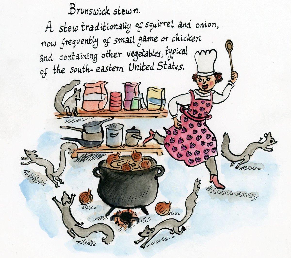 test Twitter Media - OED Word of the Day: Brunswick stew, n. (image by @imogenfoxell) https://t.co/sRW2E1231b https://t.co/VjOEUO8CQh