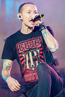 Happy birthday Chester Bennington he would have been 42 today such a sad loss but your music will live on