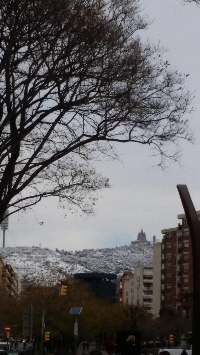 Buenos días #Barcelona #nieve #frio jajajajaj 👅👄 v9v6T7K71p