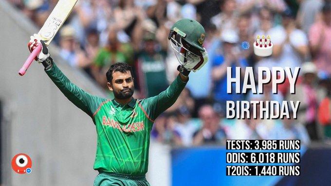Happy Birthday Tamim Iqbal!