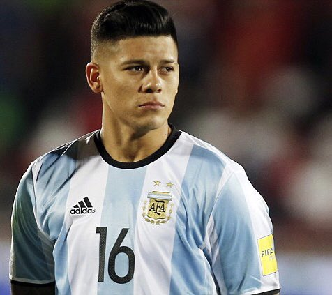 Feliz cumpleaños//Happy Birthday to Argentine player Marcos Rojo!!