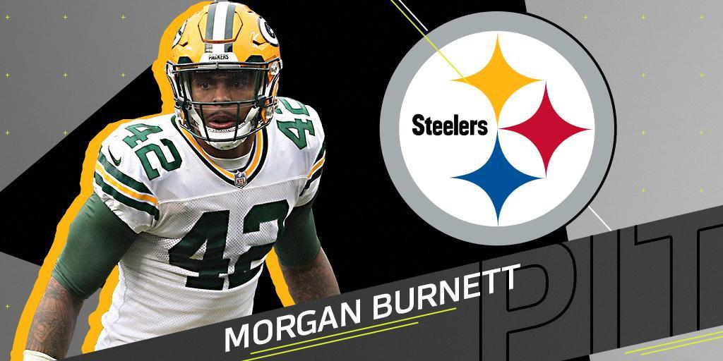 DB Morgan Burnett heading to Steelers: https://t.co/qWqj3sWEOH (via @89JonesNTAF) https://t.co/N7tu3QNLSt