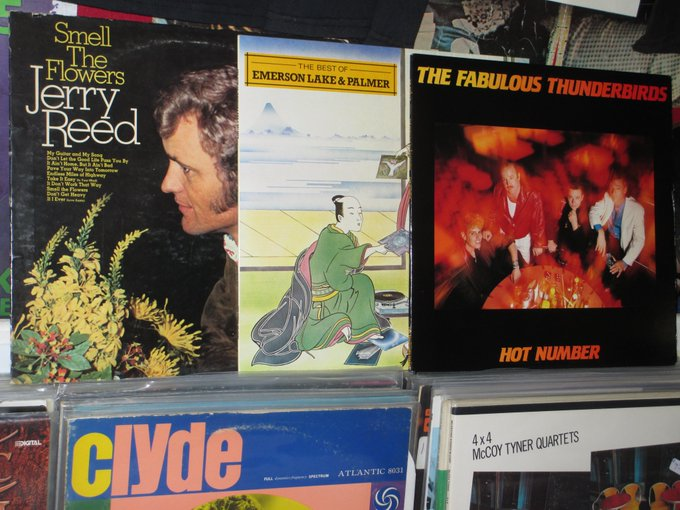 Happy Birthday to the late Jerry Reed, Carl Palmer of ELP & Jimmie Vaughan of Fab T-Birds