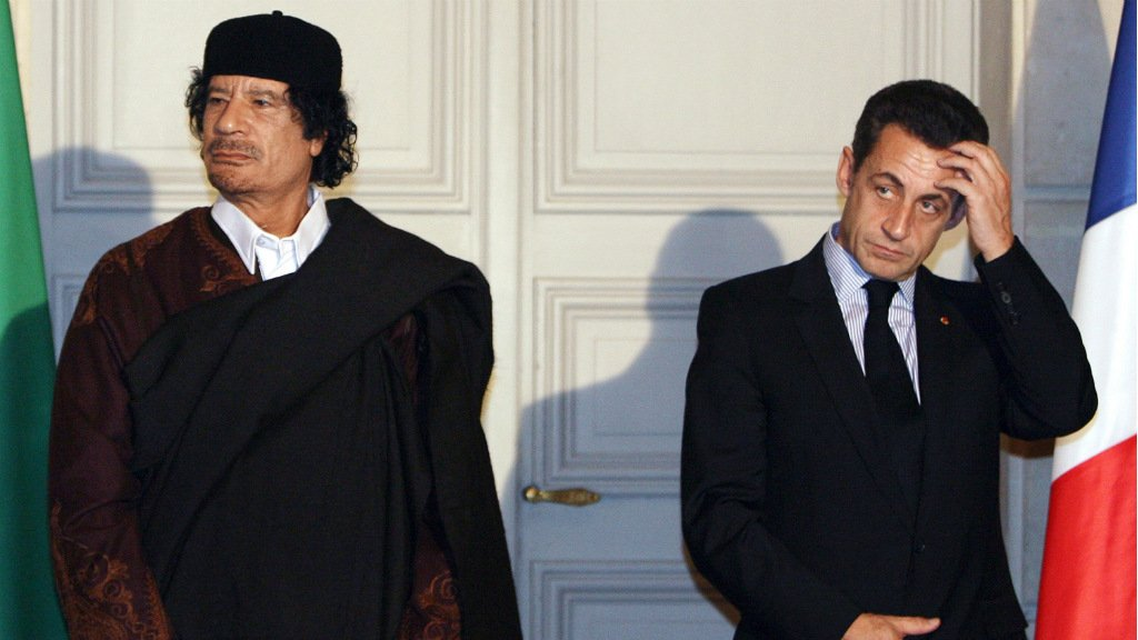 Gaddafi relations haunt Sarkozy in 2007 campaign financing case