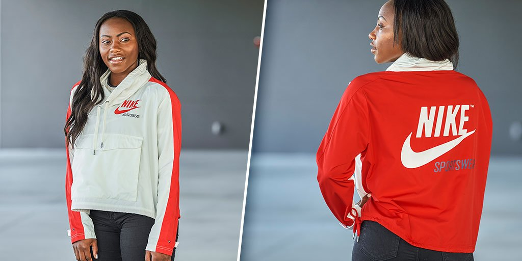 buy online d2ab5 3731c retro style and modern comfort check out the nike archive pullover jacket  this week s women