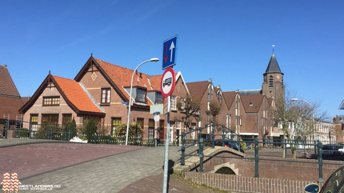Afsluiting Valbrug in Honselersdijk https://t.co/cCRTs2Dge1 https://t.co/0Q9XleBi0T