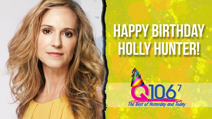 Happy 60th Birthday to the fabulous Holly Hunter!