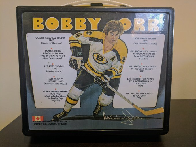 Happy 70th Birthday Bobby Orr. Still take your lunch box to the office every day.