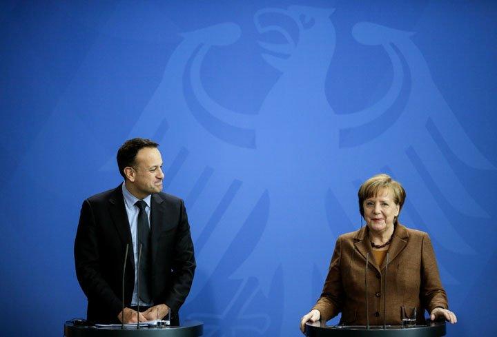 @BroadcastImagem: Merkel diz que Irlanda pode contar com Alemanha nas negociações do Brexit. Markus Schreiber/AP