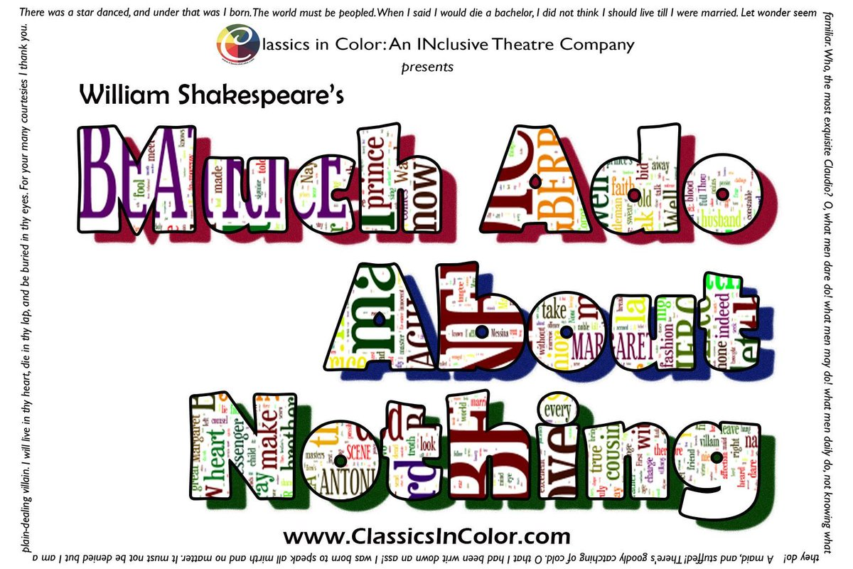 test Twitter Media - NYC Cardinals! @ClassicsInColor, founded by @nafeesamonroe '99, presents a multiethnic, multiabled ensemble present-day production of Much Ado About Nothing starring @OTNB @WCG_Lolita March 21-25. Check it out! https://t.co/O5QhAHdACb https://t.co/IlQ8rSiqJa