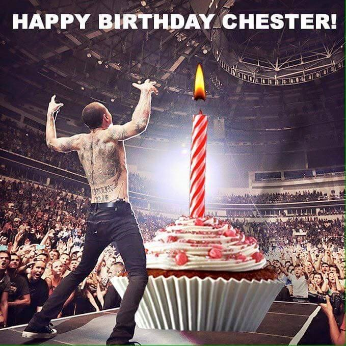 Happy Birthday Chester Bennington!! We love you!!