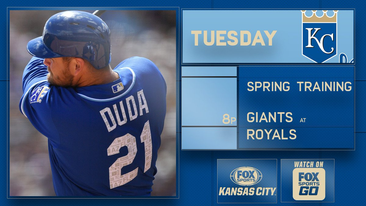 test Twitter Media - One game closer to opening day, #Royals Spring Training continues on FSKC. ⚾@Royals-Giants 📺FSKC 📲#FOXSportsGO: https://t.co/uWeHfL6H01 https://t.co/KUn5TFt308