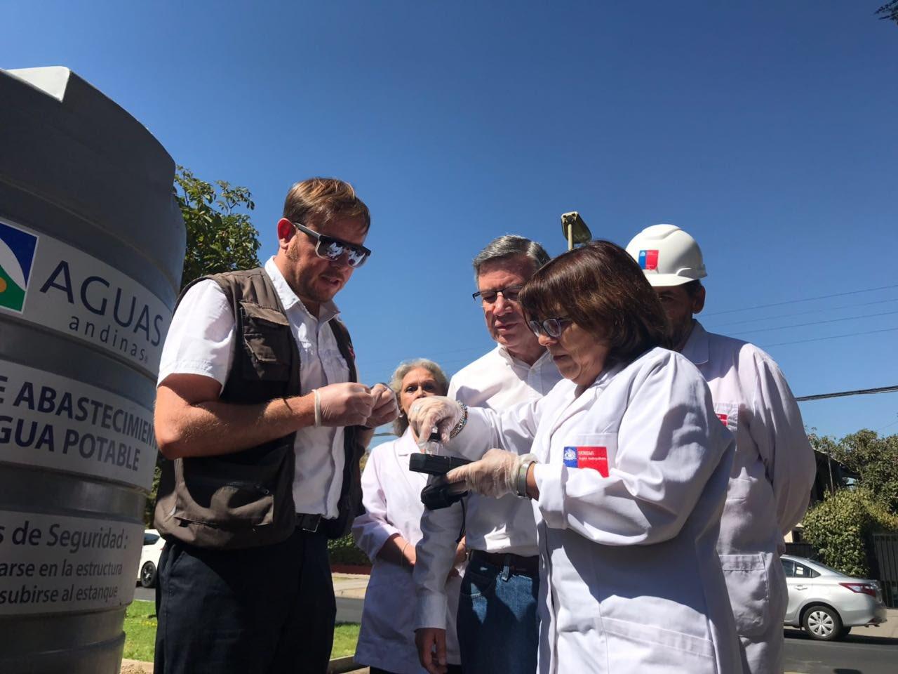 Seremi de Salud abrió sumario por malos olores en suministro de Aguas Andinas https://t.co/XbpBWEEVOZ https://t.co/OrWUHaqVys