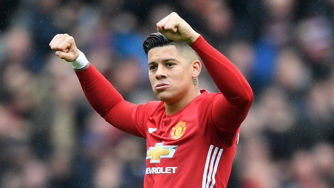 Happy birthday to our Marcos Rojo. Beast and a funny guy.