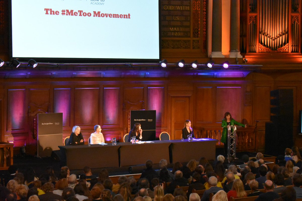 test Twitter Media - The impassioned Helena Kennedy saying the #MeToo movement has not gone far enough, after delivering a powerful and painful list of what women have to go through every single day.  #London @nytimes #debate https://t.co/pNx3UoCNTt