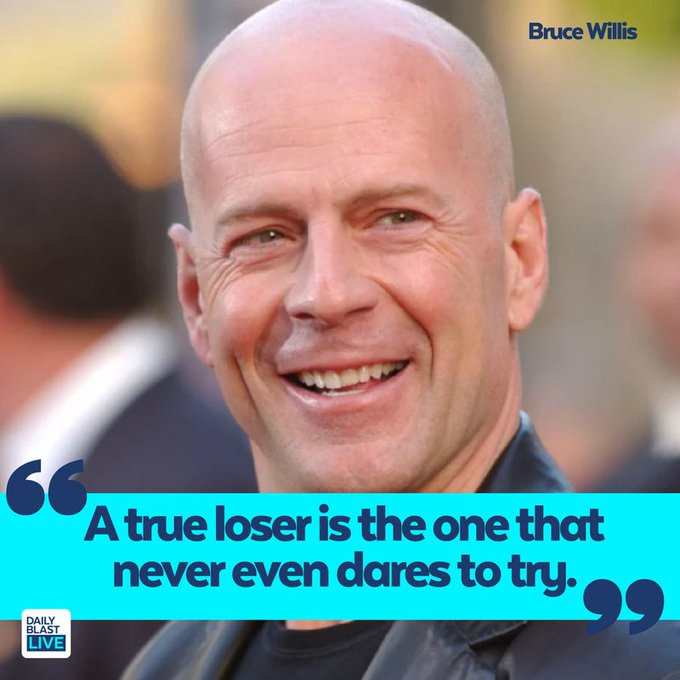 Daily Blast Live wishes Bruce Willis a happy birthday!