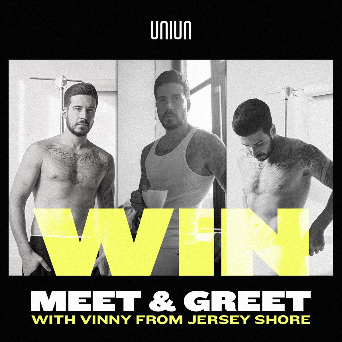test Twitter Media - ⚠️ MAJOR CONTEST ALERT ⚠️  Want to fist pump with @VINNYGUADAGNINO from @JerseyShore this Friday when he hosts inside @UNIUNnightclub?  Head to our Facebook and Instagram pages to enter. https://t.co/TqBPh82sa1