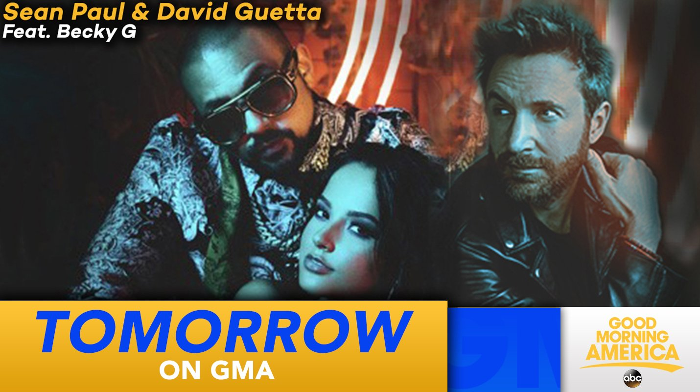 TOMORROW: @duttypaul, @davidguetta and @iambeckyg rock the house, LIVE in Times Square! #MadLove https://t.co/qix0OWOO6g