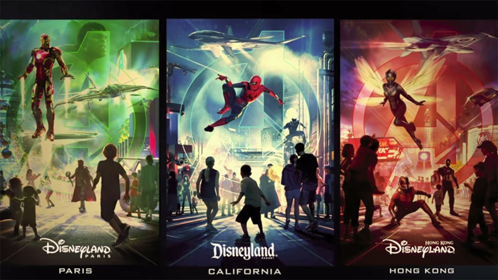Marvel-themed lands coming to three Disney parks