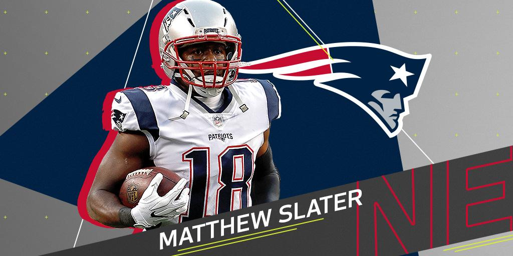 7-time Pro Bowler Matthew Slater to re-sign with @Patriots: https://t.co/ilrbs2K09e https://t.co/FniFVcmReA