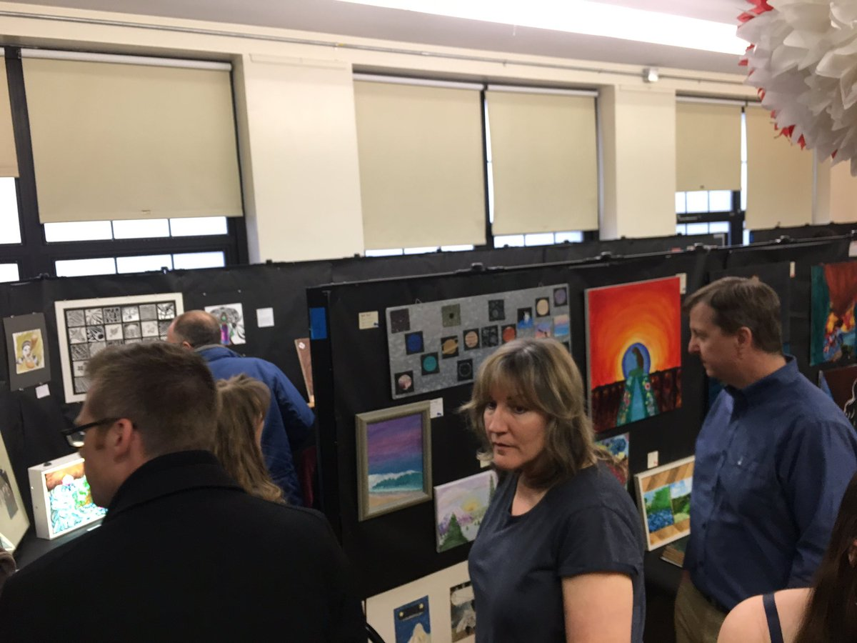 test Twitter Media - Amazing turnout for the CAHS Art Show https://t.co/CCzFnMGIo1