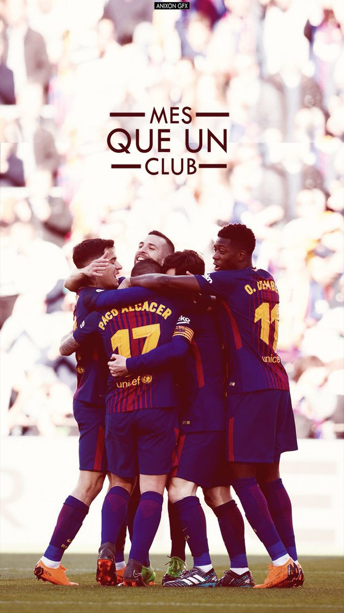 RT @ADITYA_GFX: Wallpapers - FC Barcelona vs Athletic Bilbao 🔵🔴 Team Edit🏋💪🤘 #FCBlive https://t.co/HM8YdaxlMO
