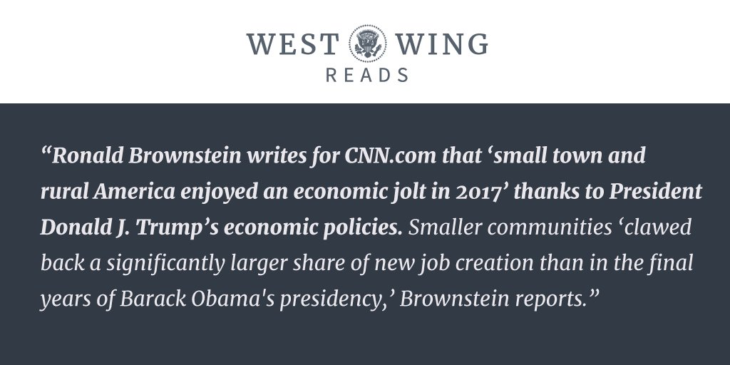 Check out tonight's edition of West Wing Reads: https://t.co/NfPK7goZzY https://t.co/rcJPuBx0tP