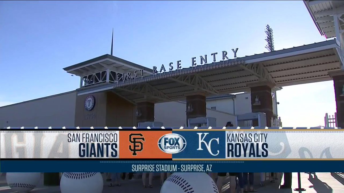 test Twitter Media - Ian Kennedy is about to take the mound for the #Royals against the #SFGiants in Surprise. Watch now on FSKC and FSGO: https://t.co/uWeHfKP5Br https://t.co/sWDIhWFCkG