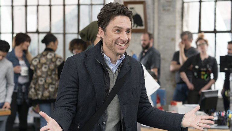 Why @ZachBraff Returned to Broadcast TV With ABC's 'Alex, Inc.'